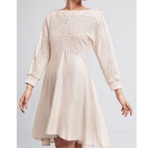 Anthropologie Noa Dolman Cream Dress Size M